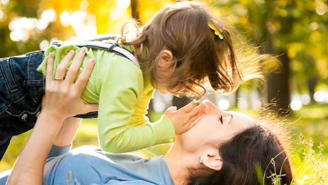 Мама - гарант детства