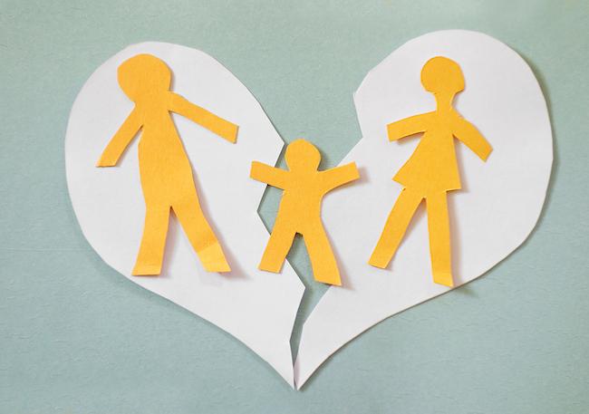 Как ребенку пережить развод